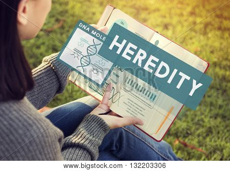 Heredity Biology Chromosome Molecular Science Concept
