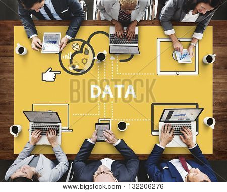 Files Data Information Devices Storage Concept