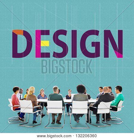 Design Creative Draft Ideas Planning Sketch Plan Concept