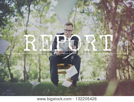 Report Article Information Research Progress Concept