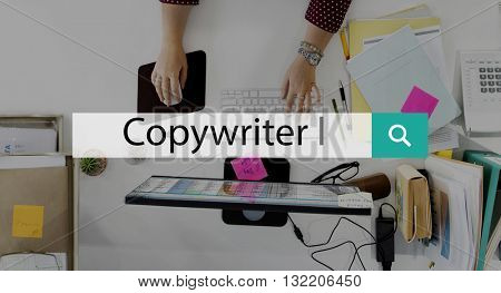 Copywriter Design Legal Protection Patent License Concept