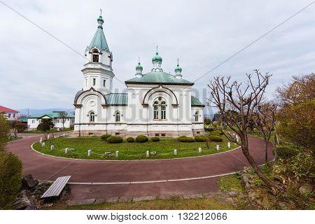 Catholic Orthodox Church At Motomachi, Hakodate