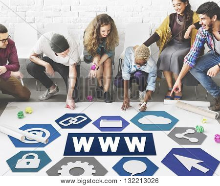 Www Website Networking Internet Concept
