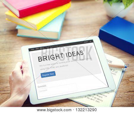 Ideas Creative Design Concept Think Concept