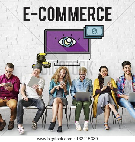 Advertisement Digital Marketing E-commerce Multimedia Concept