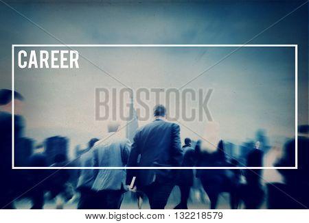 Career Job Work Employment Human Resources Occupation Concept