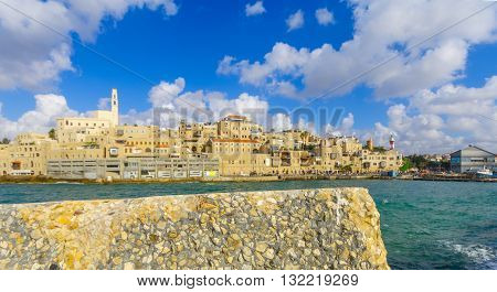 Jaffa Port And Of The Old City Of Jaffa