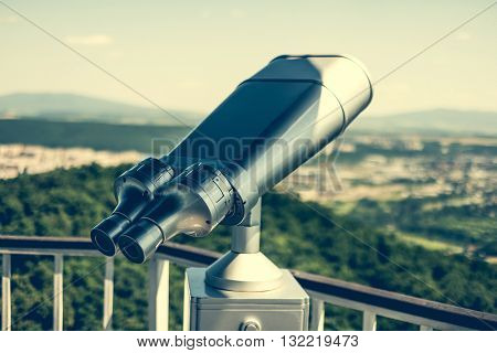 observation  binocular for sightseeing