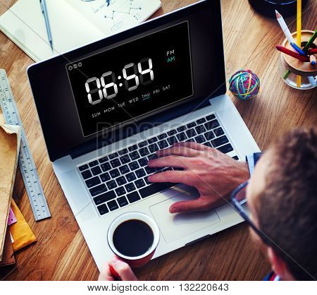 Clock Duration Time Leisure Hour Concept