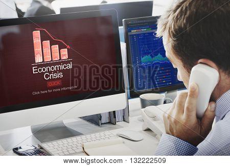 Economical Crisis Budget Community Financial Concept