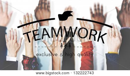 Teamwork Team Building Spirit Togetherness Concept