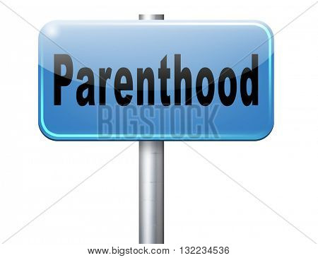 Parenthood pregnancy test, parents expecting newborn baby happy family waiting childbirth, pregnant couple