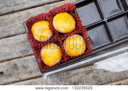 Festival moon cake for chinese new year