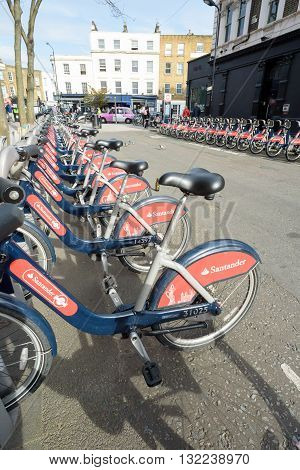 London Bikes For Hire