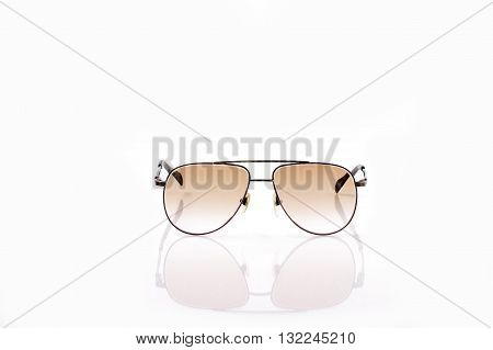 Gradient Brown Tone Sun Protect Spectacles