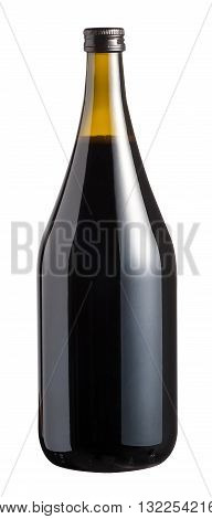 Unlabelled Large Bottle Of Red Wine