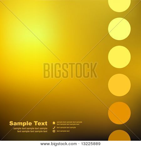 Vector creative background for business