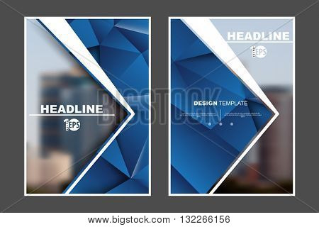abstract flat layout geometric marketing business corporate design template. eps10 vector