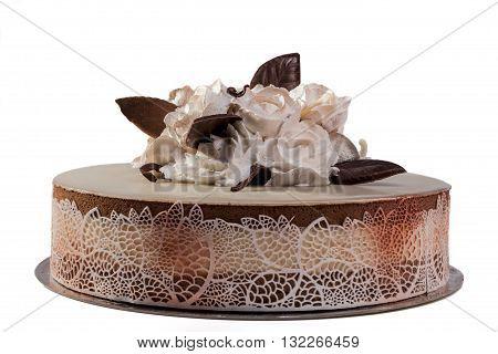 Roses On Cake