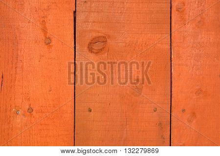 Orange wooden new farm wall planks background and texture