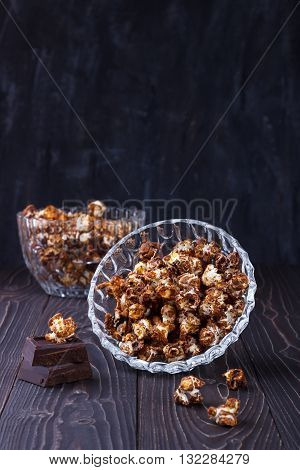 Sweet Chocolate Popcorn