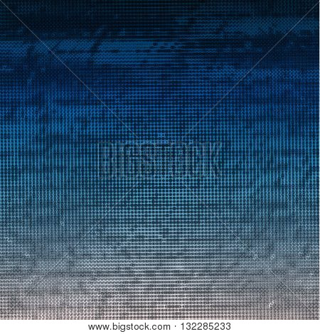 Abstract halftone vector background. Old text relief