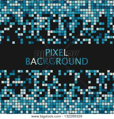 Pixel background, Pixelate Effect, Geometric background with squares