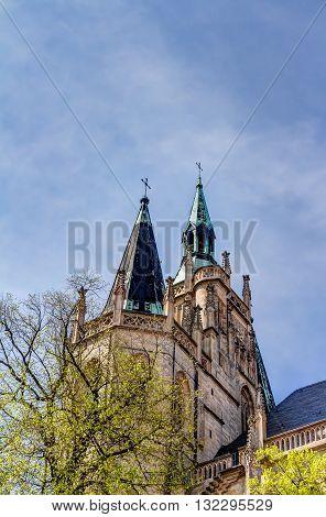 The Catholic Erfurt Cathedral