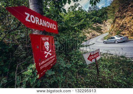 Sarajevo Bosnia and Herzegovina - August 24 2015.