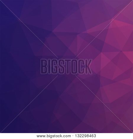 Abstract Polygonal Vector Background. Colorful Geometric Vector Illustration. Creative Design Templa