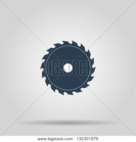 Circular saw blade. Concept illustration for design.
