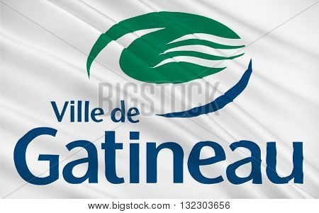 Flag of Gatineau officially Ville de Gatineau is a city in western Quebec Canada