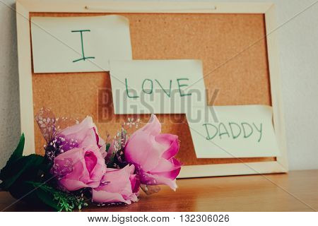 I Love Daddy.