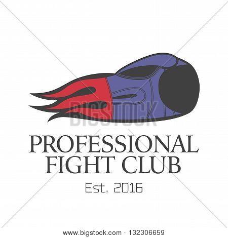 Boxing vector logo design element. Boxing concept