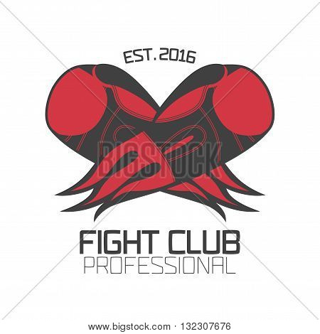 Boxing vector template logo design element. Boxing concept