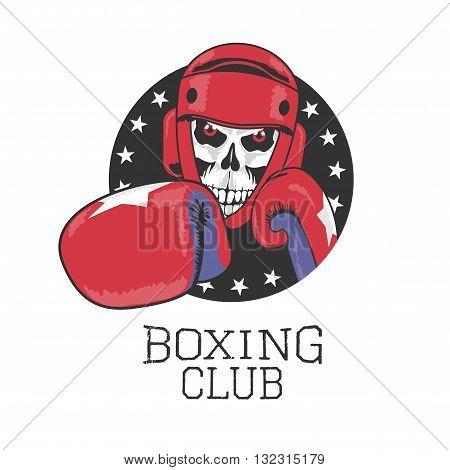 Boxing club vector design element logo. Boxing concept