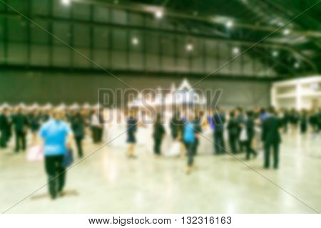 Exhibition Fair Blurred