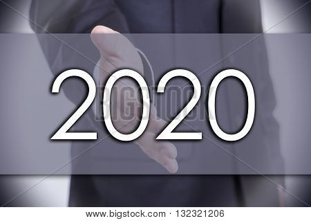 2020 - Business Concept With Text