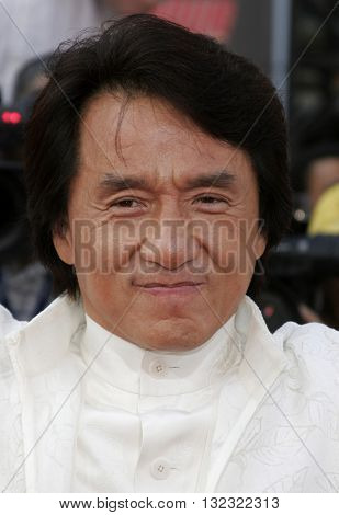 Jackie Chan at the Los Angeles premiere of 'Rush Hour 3' held at the Grauman's Chinese Theater in Hollywood, USA on July 30, 2007.