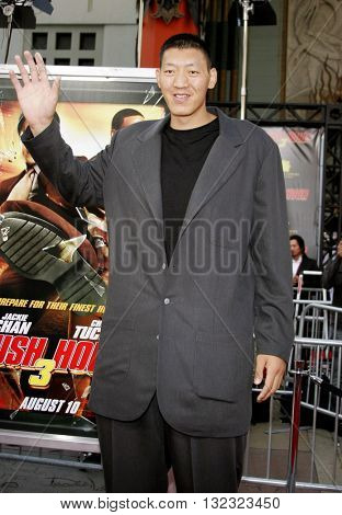 Sun Ming Ming at the Los Angeles premiere of 'Rush Hour 3' held at the Grauman's Chinese Theater in Hollywood, USA on July 30, 2007.