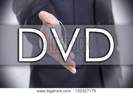Dvd - Business Concept With Text