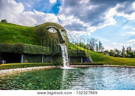 Park in Swarovski World Innsbruck - Austria