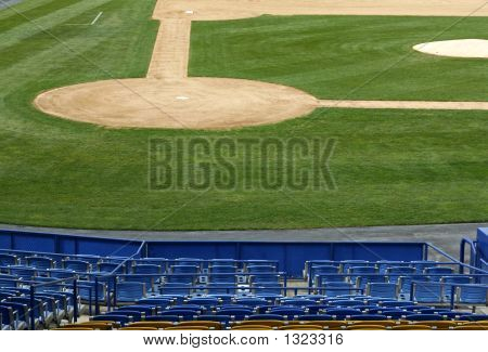 View Of Base Ball Infield