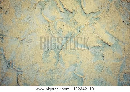 Plasterer Cement At Wall For Texture Background