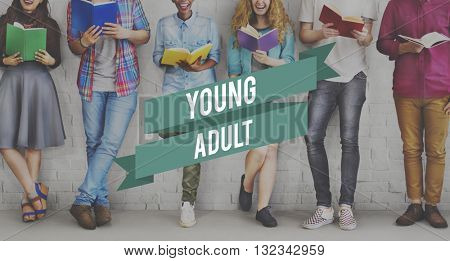 Young Adult Generation Teenagers Teens Youth Concept