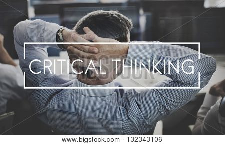 Critical Thinking Knowledge Strategy Innovation Concept