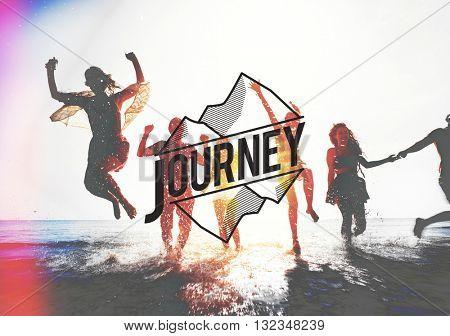 Journey Exploration Destination Adventure Holiday Concept