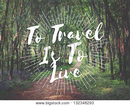 Travel Destination Exploration Holiday Journey Concept