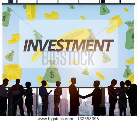Finance Economics Access Affluent Investment Concept
