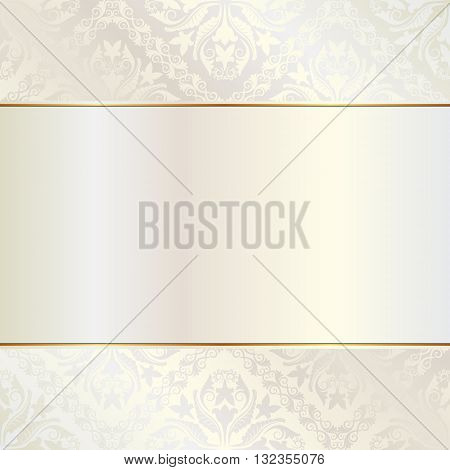 brilliance background with ornaments and copy space